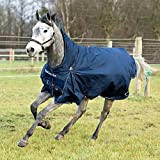 Product review for Horze Supreme Avalanche PRO Rain Rug Peacoat Dark Blue 75