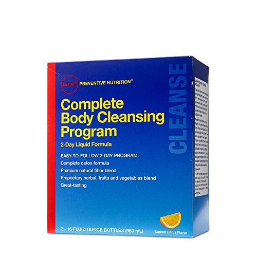 GNC Preventive Nutrition Complete Body Cleansing Program, 16 fl. oz.