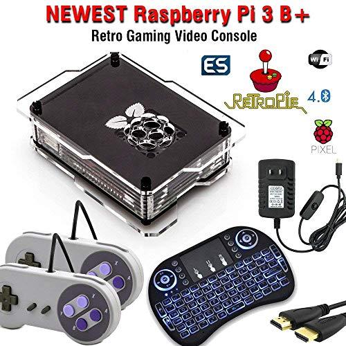 128GB Retropie Raspberry Pi 3 Model B+ Retro Games Video Console Complete Build 110k+ Games