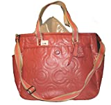 Coach Multifunction Patent Leather Baby Diaper Bag