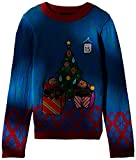 Product review for Blizzard Bay Big Boys' Tardy Sloths Light up Xmas Sweater