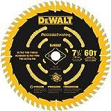 DEWALT DW3196 7-1/4-Inch 60T Precision Finishing Saw Blade