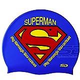Swimming Cap Superman Logo Vector Swim Silicone Head Cap