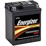 Energizer ETX7L Black ETX7L AGM Motorcycle and Atv 12V Battery, 85 Cold Cranking Amps and 6 Ahr. Replaces: YTX7L-BS and others