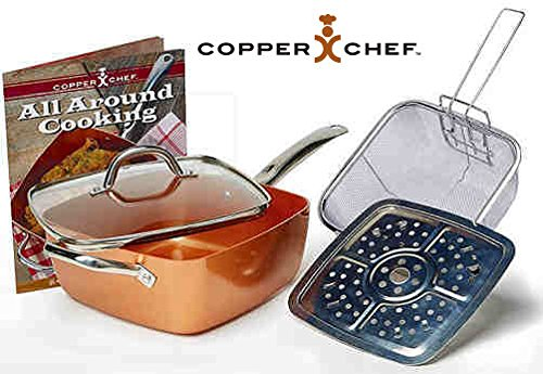 Copper Chef Deep Square Pan