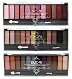 Elegant 36 Natural, Smoky, Ultra Color Eyeshadow Pro Makeup kit