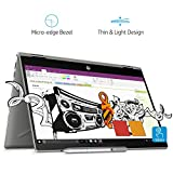HP Pavilion x360 Intel Core i7 8th Gen 14-inch Touchscreen 2-in-1 FHD Thin and Light Laptop (12GB/512GB SSD/Windows 10 Home/MS Office/4GB Graphics/Mineral Silver/1.59 kg), cd0056TX
