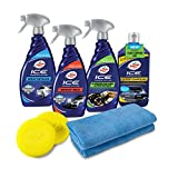 Turtle Wax 50733 Complete ICE Premium Car Care Kit, 8-Piece