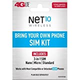 Net10 - Bring Your Own Phone 'GSM' 3-in-1 Sim Card Kit (4G LTE) - 'AT&T' Compatible