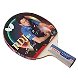 Butterfly RDJ CS2 Ping Pong Paddle - ITTF Approved Table Tennis Racket - Excellent Balance of Spin, Speed, and Control - Short Handle Table Tennis Paddle