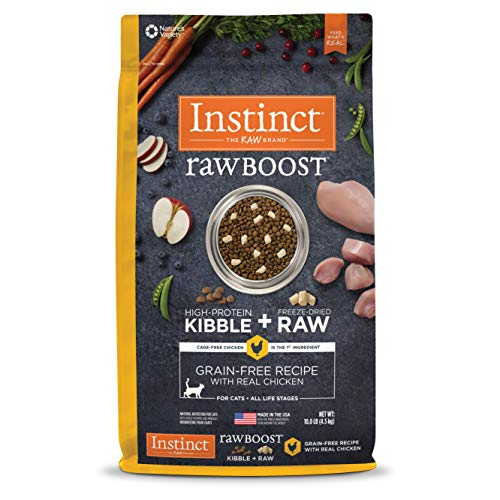 Instinct Raw Boost Grain Free Recipe Natural Dry Cat Food review