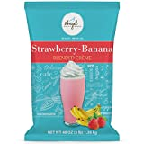 Strawberry Banana Blended Crème Mix by Angel Specialty Products [3 LB]