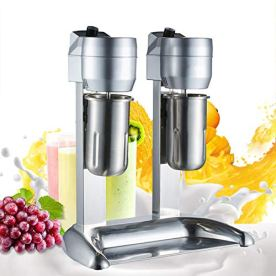 Professional-Milk-Shake-MachineCommercial-Stainless-110V-DoubleSingle-Head-Drink-Mixer-18000RMP-Home-Milkshake-Mixer-Machine-Ice-Cream-Mixing-High-Speed-Mixer-Blender-USA-STOCK-2-round-head