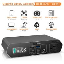 Portable-Laptop-Charger-40000mAh148Wh-AC-Outlet-Laptop-Power-Bank-With-45W-Type-C-PD-Charger-For-MacBook-ProAir-HP-Spectre-Dell-XPS-Nintendo-Switch-iPad-Pro-iPhone-11ProMax-Galaxy-and-More