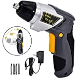 Werktough S010 3.6V Cordless Screwdriver Li-ion Battery with Swivel Handle
