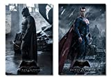Batman vs. Superman: Dawn of Justice - Movie Poster/Print Set (Batman & Superman - Standing) (Size: 24 inches x 36 inches)