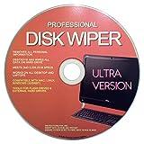 Professional Hard Disk Drive & USB Eraser - Wiper CD Disc 32/64Bit [Windows - Linux - Mac]