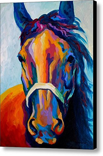 Horse Art Prints On Canvas Animal Painting For Home Decoration Pattern 19 X