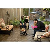 Camp Chef Redwood Portable Propane Fire Pit with 4 Roasting...