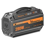 PROGENY 280W Generator Portable Power Station- [350W Peak / 67500mAh ]-Lithium Battery Pack Supply with 110V AC Outlet, 3 DC 12V Ports, 2 USB , Solar Generators for Camping CPAP Emergency Home
