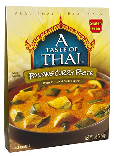 A Taste of Thai Panang Curry Paste, 1.75 oz Box, 6 Piece
