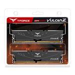 TEAMGROUP T-Force Vulcan Z DDR4 16GB Kit (2x8GB) 3000MHz (PC4-24000) CL16 Desktop Memory Module Ram (Gray…