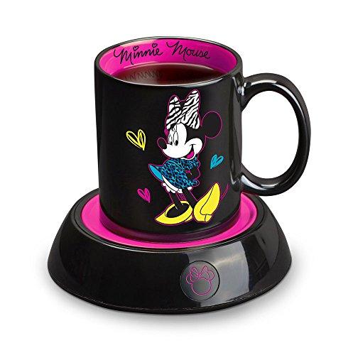 Disney Minnie Mouse Mug Warmer, Black/Pink (DMG-18)