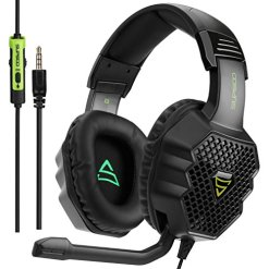 [2017 Supsoo G811 Multi-Platform New Xbox one PS4 Gaming Headset ]3.5 mm Wired Over Ear Gaming Headsets With Microphone ,Depp Bass , Noise Cancelling Headphones For New Xbox one PS4 PC Laptop Mac iPad