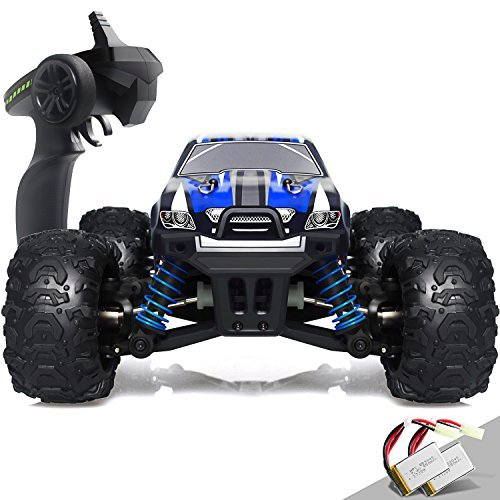 IMDEN Remote Control Car, Terrain RC Cars, Electric Remote Control Off Road Monster Truck, 1:18 Scale 2.4Ghz Radio 4WD Fast 30+ MPH RC Car, with 2 Rechargeable Batteries