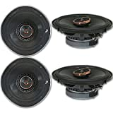 4 x Infinity REF-6522ix 6.5-inch 2-Way Car Audio Coaxial Speakers 6-1/2' 6522ix
