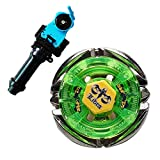 Gyro Kids Fusion Fight Battling Tops Spinning Top BB48 Flame Libra with Single Launcher+Handle