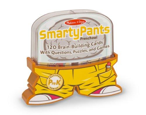 Melissa & Doug Smarty Pants Preschool Card Set Educational Activity