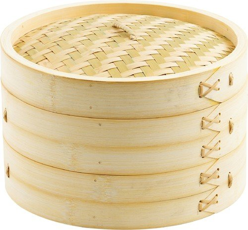 Helen Chen's Asian Kitchen Bamboo Steamer, 10-Inch