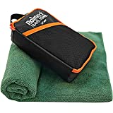Rainleaf Travel Towel,Fast Drying Towel,Backpacking Towel,Swim Towel,Absorbent Towel,Workout Towel,Microfiber Towels for Body,Ultra Compact-Soft -Lightweight,Dark Green 24'x48'