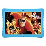BENEVE 10.1' Inch 1080p Full HD IPS Display Android Tablet, 2GB+32 GB Big Storage, Android 7.0, Dual Camera 2MP+ 5MP, Bluetooth and WiFi, Kid-Proof Drop Resistance Case and Parent Control App