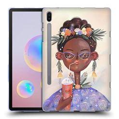 51Asv9KAtXL - Official Oilikki Woman Assorted Designs Soft Gel Case Compatible for Samsung Galaxy Tab S6 (2019)
