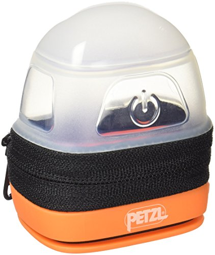 Petzl - NOCTILIGHT, Protective Lantern and Carrying Case for PETZL Headlamps,Black,One Size