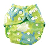 Bumkins Cloth Diaper Cover, Turtle