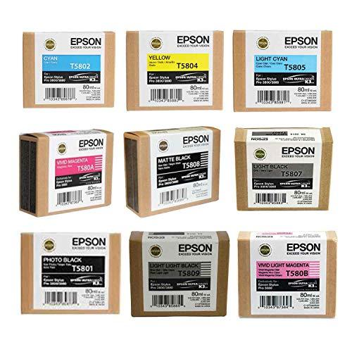 epson 3880 inks