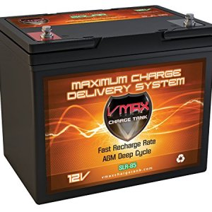 VMAX SLR85 12 Volt 85Ah AGM Deep Cycle Maintenence-free battery for energy storage and backup power, Group 24 AGM 12V 85Ah