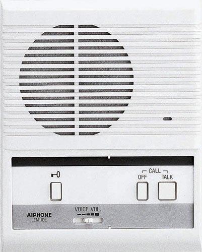 Aiphone LEM-1DL Single-Door Access Sentry System Master Intercom
