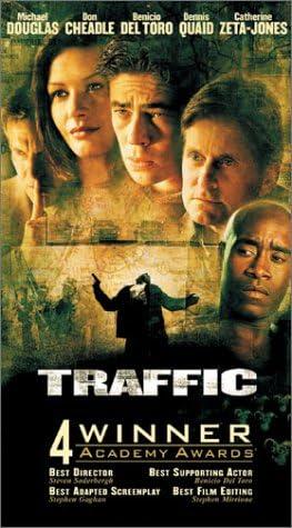 Traffic VHS Import USA: Benicio Del Toro, Jacob Vargas ...