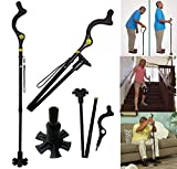 As Seen on TV Walking Cane with Adjustable Heights Campbell Posture Cane