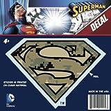 DC Comics ST SM LOGO006 Superman Logo Decal, Camo 2