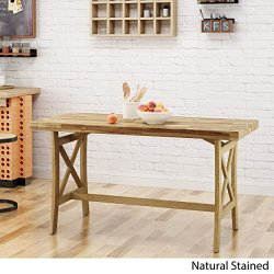 Christopher Knight Home Ford Traditional Acacia Wood Desk, Natural Stained