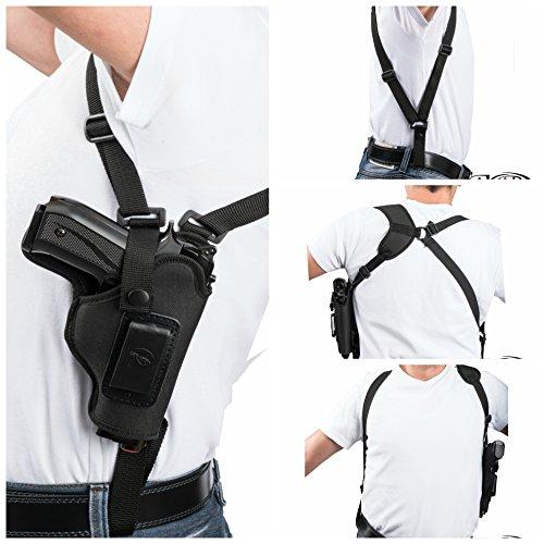Akar Beretta Px4 Storm Subcompact Vertical Carry Nylon Shoulder Holster - Pick Your Hand- (Left)
