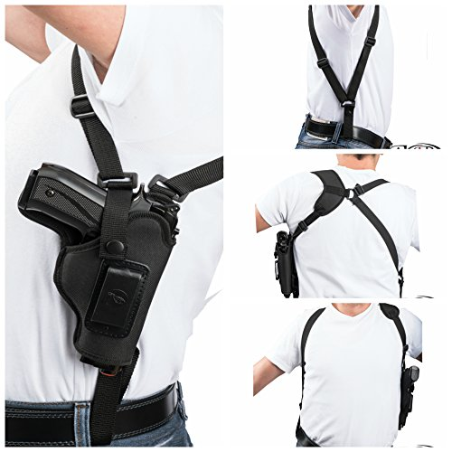 Akar Beretta Px4 Storm Subcompact Vertical Carry Nylon Shoulder Holster - Pick Your Hand- (Left)