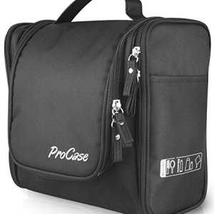 23eed4607b04 ProCase Large Toiletry Bag with Hanging Hook