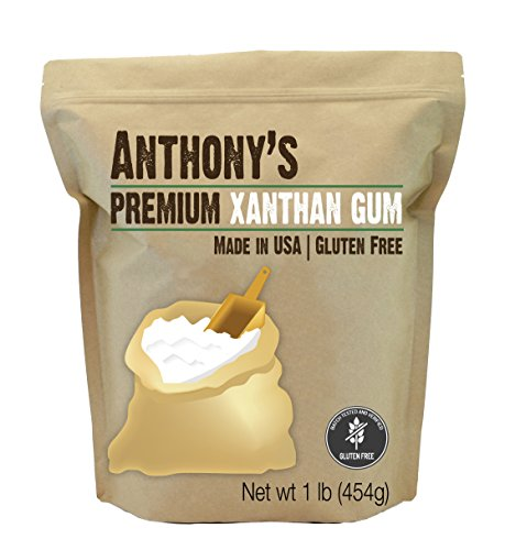 Xanthan Gum 1lb (16 Ounce) Made in the USA, by Anthony's, Gluten-Free