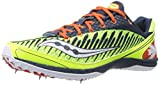 Saucony Men's Kilkenny Xc5 Spike Cross Country Spike Shoe,Citron/Navy/Red,12.5 M US